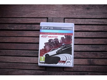 Playstation 3 spel PS3 NFS Need for speed Most Wanted