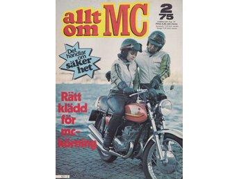 Allt Om Mc 1975-2 BMW R60/75 Stor Test..Honda Gold Wing