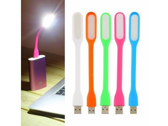 USB LED-ljus Rosa Flexible Ultra Bright Mini LED USB read Light