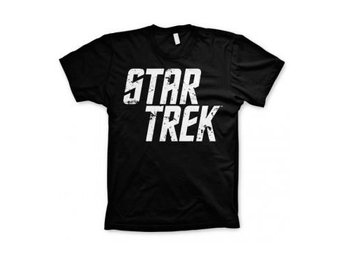 Star Trek T-shirt Distressed Logo L
