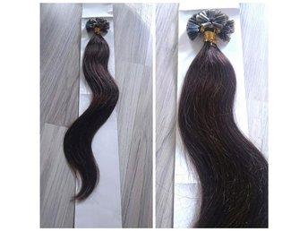 100st Nail hair slingor. Mörkbrun #2 - Ljungsbro - 100st Nail hair slingor. Mörkbrun #2 - Ljungsbro