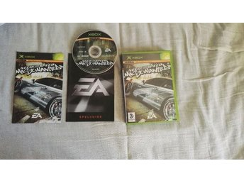 NEED FOR SPEED MOST WANTED (XBOX) FULLT KOMPLETT