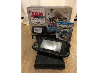Nintendo Wii U 32GB LIMITED ZELDA EDITION inkl Nintendo Land - Uddevalla - Nintendo Wii U 32GB LIMITED ZELDA EDITION inkl Nintendo Land - Uddevalla