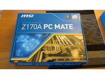MSI Z170A PC MATE, Intel moderkort (Socket 1151)