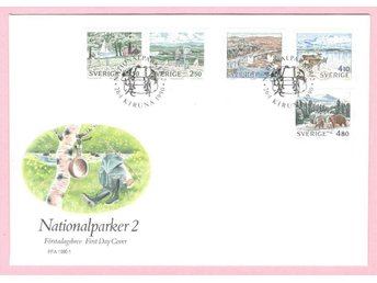 FDC  1990  Nationalparker  R6074