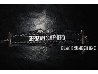 German Shepherd - Tysk Schäferhund - Schäfer Love armband - Kolvereid - Norge - German Shepherd - Tysk Schäferhund - Schäfer Love armband - Kolvereid - Norge