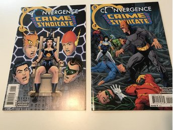 Convergence Crime Syndicate (2015) Complete 1-2 Rea 49sek!!!