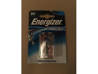 Batteri Energizer ultimate lithium 9v
