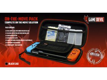 Nintendo Switch On the Move Pack Black GameDevil