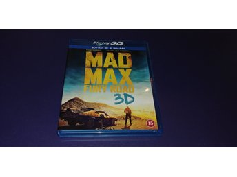 Mad Max: Fury Road (Blu-Ray, 3D)
