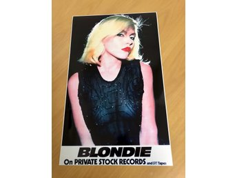 BLONDIE FIRST ALBUM UK 1976 GLOSSY PHOTO POSTER