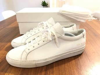 Common Projects Original Achilles Sneakers White Calf