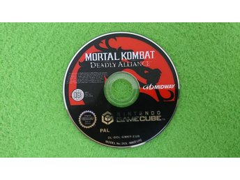 Mortal Kombat Deadly Alliance ENDAST SKIVAN Gamecube Nintendo Game Cube