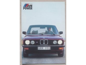 BMW M-power broschyr