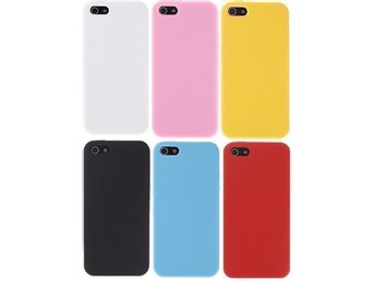iPhone 5s / 5 Silicon Case - Vit