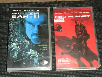 VHS - BATTLEFIELD EARTH / RED PLANET