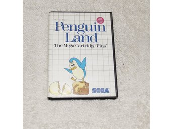 PENGUIN LAND MED MANUAL* SEGA MASTER SYSTEM