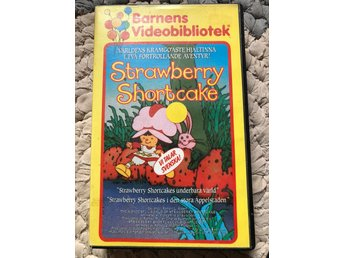 Jordgubbslisa VHS strawberry shortcake kult!