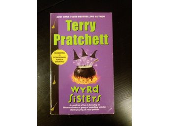 "Terry Pratchett ""Wyrd Sisters"" Discworld pocket"