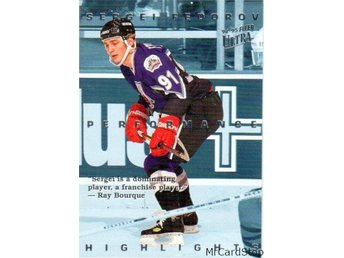 Ultra 1994-95 Sergei Fedorov Highlights 1 Sergei Fedorov AS Detroit Red Wings