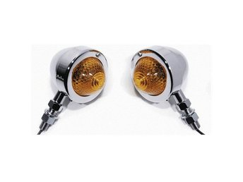 Chromed Bullet Signal Light Blinkers.