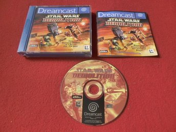 STAR WARS DEMOLITION till Sega Dreamcast