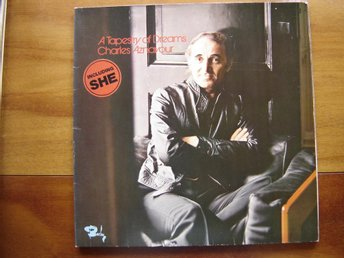 "Lp. Charles Aznavour ""A tapestry of dreams"""
