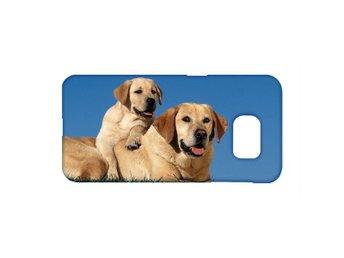 Labrador Mamma Och Valp Samsung Galaxy S6 Edge Mobilskal - Karlskrona - Labrador Mamma Och Valp Samsung Galaxy S6 Edge Mobilskal - Karlskrona