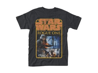 STAR WARS ROGUE ONE STORMTROOPER LOGO POSTER T-Shirt - Small
