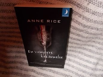 Anne Rice En vampyrs bekännelse POCKET