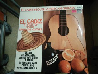El Cadiz - A Taste Of South American Guitars, LP
