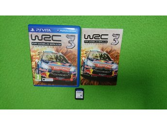 WRC 3 Playstation Vita PS