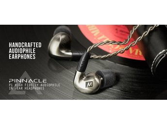 In-Ear hörlurar  avtagbara kablar MEE audio Pinnacle1