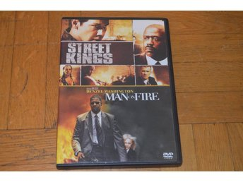 Street Kings / Man On Fire ( Denzel Washington Keanu Reeves ) 2-Disc - DVD