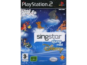 Singstar Sjung med Disney (Svensk) - Playstation 2