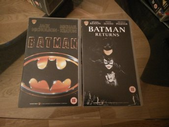 Batman and Batman Returns
