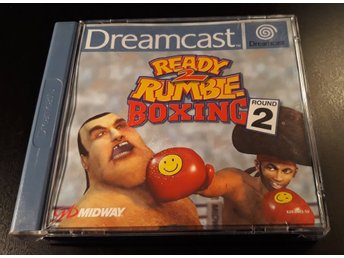 Ready 2 Rumble Boxing Round 2 - Komplett - Sega Dreamcast