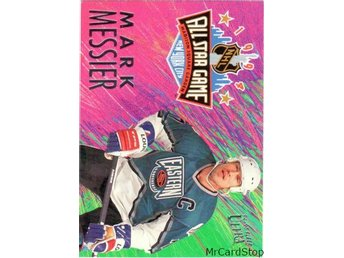 Ultra 1994-95 All-Stars 4 Mark Messier New York Rangers