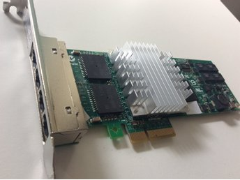 Ny Quad Port Gigabit PCIe  Ethernet Adapter 46Y3512 .