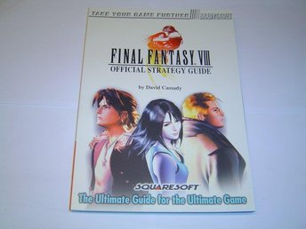 Final Fantasy 8 VIII Spelguide Guide *NYTT*