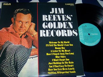 JIM REEVES - GOLDEN RECORDS LP UK