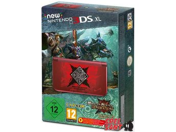 Nintendo New 3DS XL Monster Hunter Generations Limited Edition EUU