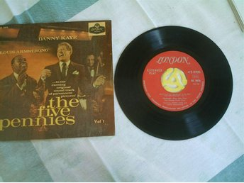 LOUIS ARMSTRONG - DANNY KAYE - THE FIVE PENNIES - LONDON  RE 5076