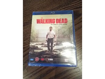"The Walking Dead säsong 6 Blu-Ray ""Nytt"" Inplastat!"