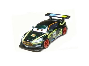 Disney Pixar Cars Bilar Mcqueen metall - Nigel Gearsley Neon Metallic  NY