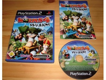 PS2: Worms 4 Mayhem