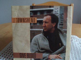 PETE TOWNSHEND (THE WHO) Give blood