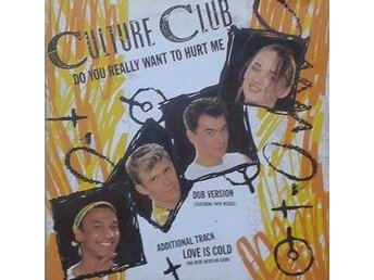 "Culture Club title*  Do You Really Want To Hurt Me* Pop, Reggae 12"" UK"
