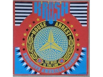 "Krush title* House Arrest (The Beat Is The Law)* House 12"" UK"