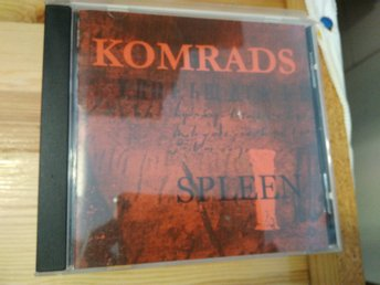 Komrads Spleen, CD, rare!
